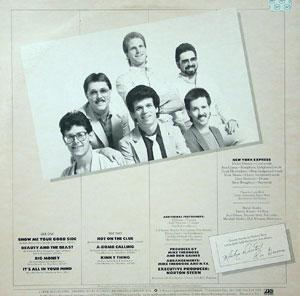 Back Cover Album New York Express - Hot On The Clue