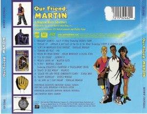 Back Cover Album Various Artists - Our Friend, Martin
