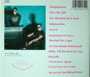 Back Cover Album The Deele - An Invitation Of Love