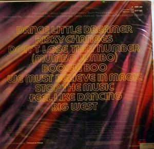 Back Cover Album Bionic Boogie - Bionic Boogie