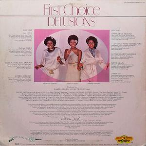 Back Cover Album First Choice - Delusions