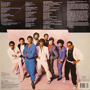 Back Cover Album The Dazz Band - Jukebox