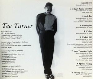 Back Cover Album Tee Turner - Smooth Eyes
