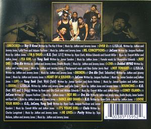Back Cover Album Key Ii Krew - Worth The Weight