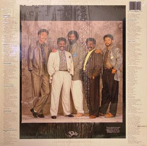Back Cover Album The Whispers - Just Gets Better With Time