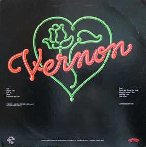 Back Cover Album Vernon Burch - Love-A-Thon