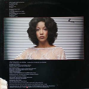 Back Cover Album Linda Clifford - If My Friends Could See Me Now