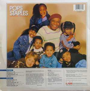 Back Cover Album Pops Staples - Pops Staples