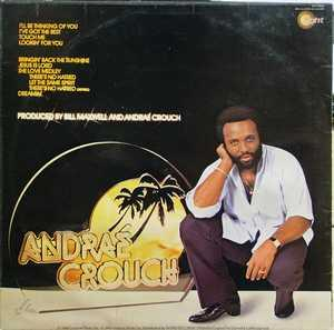 Back Cover Album Andraé Crouch - I'LL BE THINKING OF YOU