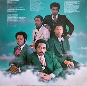 Back Cover Album Harold Melvin & The Blue Notes - Wake Up Everybody