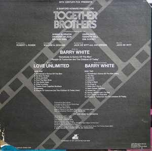 Back Cover Album Barry White - Together Brothers