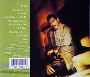 Back Cover Album Keith Washington - Make Time For Love