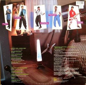 Back Cover Album Koko-pop - Secrets Of Lonely Boys