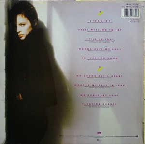 Back Cover Album Sheena Easton - No SOund But A Heart