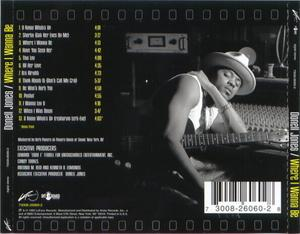 Back Cover Album Donell Jones - Where I Wanna Be