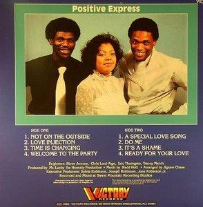 Back Cover Album Positive Express - Changin' Times
