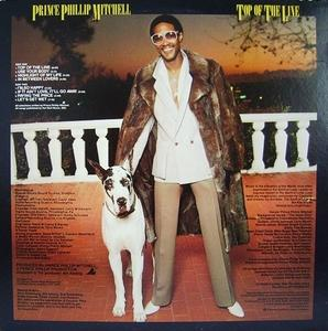 Back Cover Album Prince Phillip Mitchell - Top Of The Line