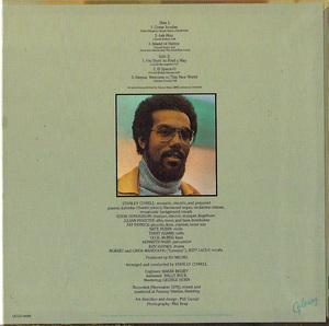 Back Cover Album Stanley Cowell - New World