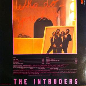 Back Cover Album The Intruders - Who Do You Love