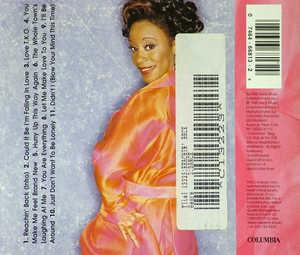Back Cover Album Regina Belle - Reachin' Back