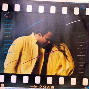 Back Cover Album Narada Michael Walden - The Dance Of Life