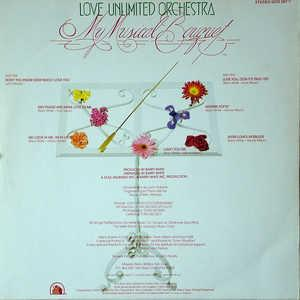 Back Cover Album The Love Unlimited Orchestra - My Musical Bouquet