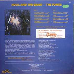 Back Cover Album Kool & The Gang - The Force