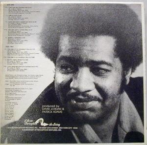 Back Cover Album J.j. Barnes - Born Again