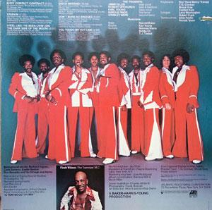 Back Cover Album The Trammps - Disco Inferno
