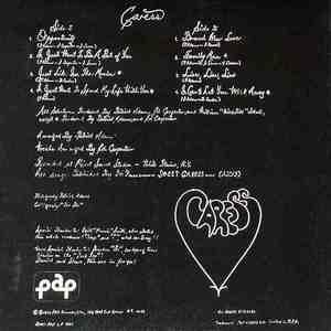 Back Cover Album Caress - Caress