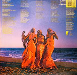 Back Cover Album The Jones Girls - At Peace With Woman