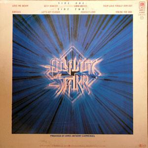 Back Cover Album Atlantic Starr - Brilliance