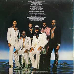 Back Cover Album The Isley Brothers - Harvest For The World