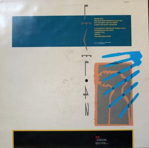 Back Cover Album Level 42 - Standing In The Light
