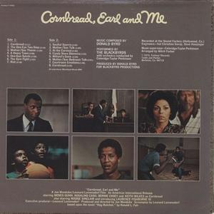 Back Cover Album The Blackbyrds - Cornbread, Earl And Me