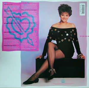 Back Cover Album Stacy Lattisaw - What You Need