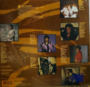 Back Cover Album Various Artists - Seven Shades