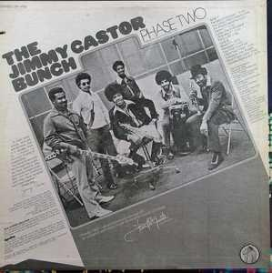 Back Cover Album Jimmy Castor Bunch - Phase Two