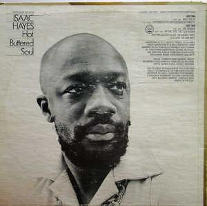 Back Cover Album Isaac Hayes - Hot Buttered Soul