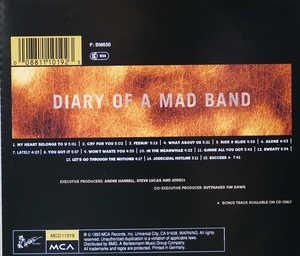 Back Cover Album Jodeci - Diary Of A Mad Band