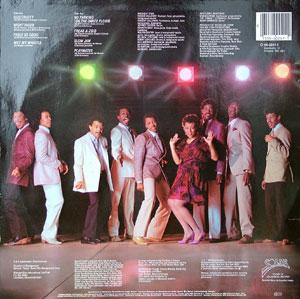 Back Cover Album Midnight Star - No Parking On The Dance Floor