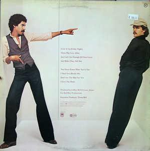 Back Cover Album Bell & James - Bell & James