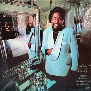 Back Cover Album Barry White - Barry White's Sheet Music