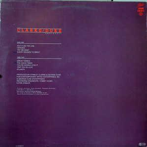 Back Cover Album Stanley Clarke And George Duke - Clarke, Duke Project II