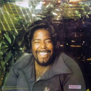 Back Cover Album Barry White - Sings For Someone You Love