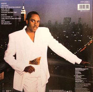 Back Cover Album Freddie Jackson - Just Like The First Time