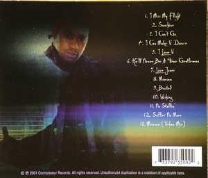 Back Cover Album Lafayette Reed - I'm Ready