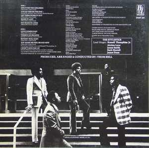Back Cover Album The Stylistics - Rockin' Roll Baby