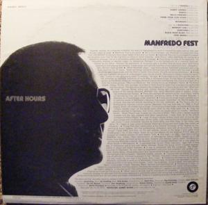 Back Cover Album Manfredo Fest - After Hours