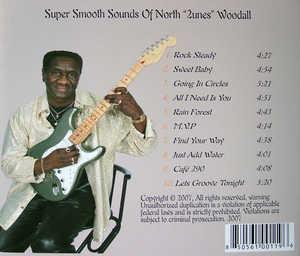 Back Cover Album North '2unes' Woodall - Straight @ You
